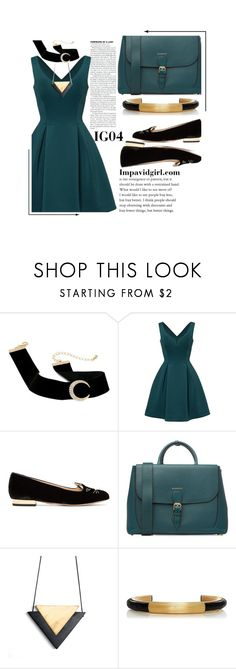 """Vegan Vogue"" by graciegirl62 ❤ liked on Polyvore featuring Slate & Willow, Charlotte Olympia and Burberry"