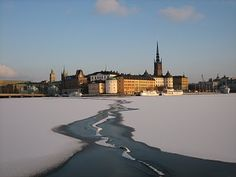 Stockholm......Been there in the dead of winter. It's freaking COLD!