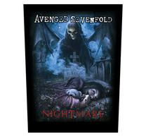Avenged Sevenfold Nightmare Backpatch