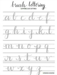 brush calligraphy practice sheets pdf