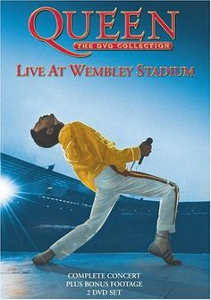 Queen Live at Wembley Stadium. Recorded in 1986 during Queen's Magic Tour. Released as VHS and then DVD. Directed by Gavin Taylor. 1990