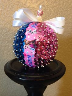 Frozen ornament by OrnamentsthatDazzle on Etsy