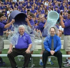 Showing his support for those suffering from Lou Gehrig's disease, the superintendent of Catholic schools for the Cincinnati Archdiocese took part in the ice bucket challenge Aug. 21. He donated to the John Paul II Medical Research Institute, which does not use embryonic stem cells in its research.