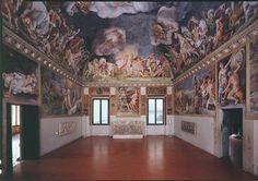 Palazzo Ducale_Sala di Troia (Giulio Romano)