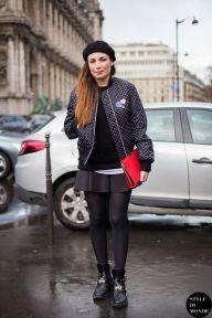 STYLE DU MONDE / Paris Fashion Week FW 2014 Street Style: Laetitia Paul  // #Fashion, #FashionBlog, #FashionBlogger, #Ootd, #OutfitOfTheDay, #StreetStyle, #Style