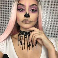 Hair Chalk — Halloween hair and make-up