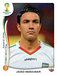 460 Javad Nekounam - Irán - MUNDIAL BRASIL 2014