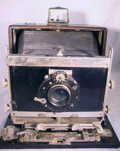 Plattenkamera, Querformat 10x15 Objektiv Billerbecks Sphärostigmat Görlitz
