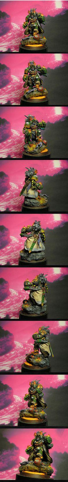 Tu'shan, Chapter master of Salamanders (NMM)