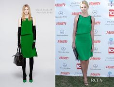 Charlize in Reed Krakoff