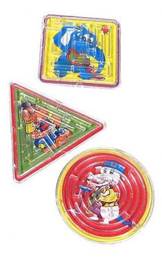 Mini Maze Puzzles Classic Set of 3..in CJ's easter basket