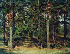 Сосновый лес ( 20 фото ) | funposter.ru