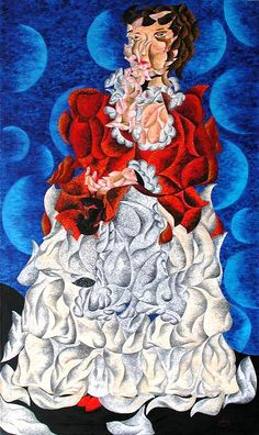 FerrArt Gallery / Münchenstein | Meschere Impressionism Art, Disney Characters, Fictional Characters, Disney Princess, Gallery, Blue, Painting, Impressionism, Kunst