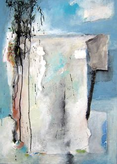 Original abstract painting acrylic painting modern by ARTbyKirsten, $209.00