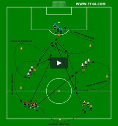 """This is """"WARM UP 2"""" by Footballtraining4all on Vimeo, the home for high quality videos and the people who love them."""