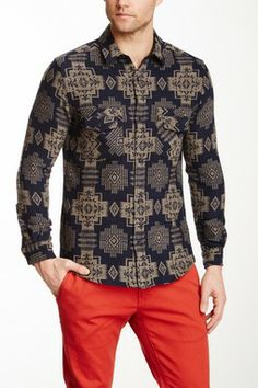 The Portland Collection By Pendleton Hunting Wool Shirt