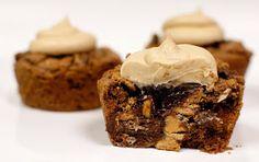 Langes Fädchen, Faules Mädchen: Peanut Butter Brownie Cups