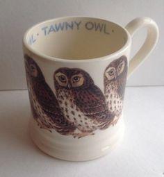 EMMA-BRIDGEWATER-Tawny-Owl-Mug-1-2-Pint-British-Birds-Series-Made-in-England