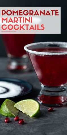 Calling all tequila lovers! Update your traditional Pomegranate Martini recipe by replacing the vodka with tequila. You can thank me later. Easy Drink Recipes, Best Cocktail Recipes, Martini Recipes, Easy Cocktails, Drinks Alcohol Recipes, Lemon Recipes, Smoothie Recipes, Dinner Recipes, Cooking Recipes