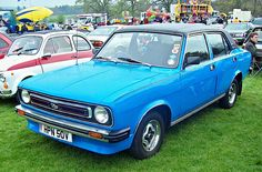 1980 Morris Marina 1300 HL 4-Door Saloon 1275cc 4-Cylinder OHV Engine (Photo by R.Knight)