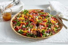 Mangos and prawns are the perfect partners and go so well in this fresh salad.