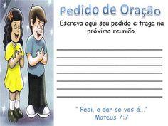 Recursos para Ministério Infantil: Recursos - Oração