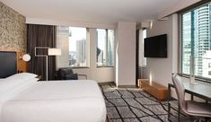 Where to Stay in Seattle: The Charter Hotel – Curio Collection by Hilton Downtown Restaurants, Downtown Seattle, Seattle Pictures, Ac Hotel, Seattle Travel, Modern Properties, Hotel Concept, Embassy Suites, American Restaurant