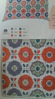 Hobbies And Crafts, Embroidery Patterns, Le Point, Needlepoint, Cushions, Crossstitch, Sketch, Toss Pillows, Cross Stitch Floss