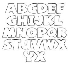 letters templates to print