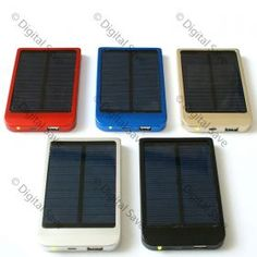 Solar Powered Travel Charger | Festival essential