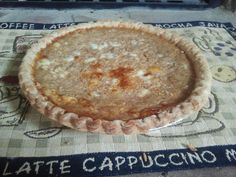The Paperback Cafe. Homemade pumpkin pie.  Made with fresh pumpkin!  Delicious!