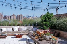A terrace to call home in DUMBO