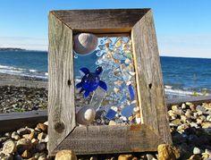 Sea Glass Turtle Window.
