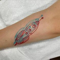 3D Rocket Tattoo by paulleetattoos