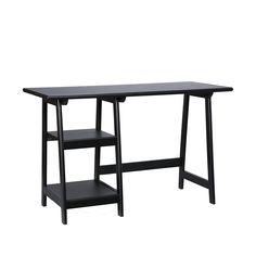 Langston Desk - Black #CoolStuff #BestPrice: $110.59 Grab NOW! @bestbuy9432