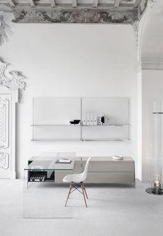Super stylish workspace.
