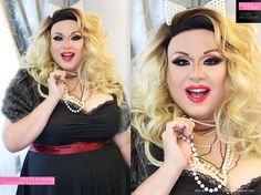 News :: Delta Work in Domino Dollhouse for Skorch Magazine! - Domino Dollhouse - Plus Size Clothing