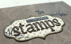 scrapperia: Cling Stamp Storage