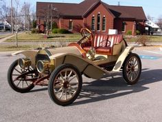 1910 Hupmobile 20 Runabout - (Hupp Motor Car Corp. Detroit, Michigan, 1908-1940)