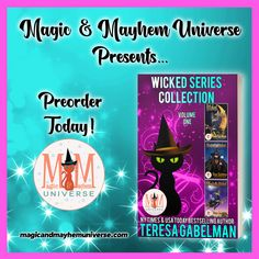 Woohoo! The Wicked Series Collection by  Teresa Gabelman is now available for preorder!  #MagicMayhemUniverse #PNR #preorder #comingsoon #ebooks #magicaltales