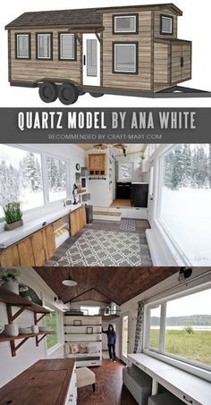 17 Best Custom Tiny House Trailers and Kits with Plans for Super-Tight Budget – Craft-Mart Open Concept Modern Tiny House with FREE Detailed Plans and Instructional Videos by Ana White. Tiny House Trailer – by Ana White – one of… Continue Reading → Plan Tiny House, Tiny House Trailer Plans, Tiny House Loft, Modern Tiny House, Tiny House Living, Tiny House On Wheels, Tiny Trailers, Tiny Mobile House, Home Design