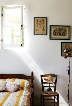 A pretty french country-inspired bedroom in australia. photo by sharyn cairns via automatism