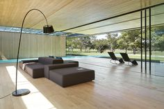 INOUT House byJoan Puigcorbé Location:San Jose, Costa Rica Year: 2015 Area: 7,000 sqft Photo courtesy:Jordi Miralles Description: This house establishes an uninterrupted ̈inside-outside ̈ relationship; a sequence of layers between the open and the intermediary. Frontal boundaries are blurred by sheets of glass and vegetation, framed by two horizontal planes, floor and ceiling, where the …