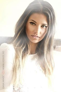 Pretty ash brown hair with highlights.... This is the new look im going for!