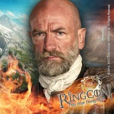 He is Dougal MacKenzie in Outlander and part of our big Outlander-Special at RingCon 15.