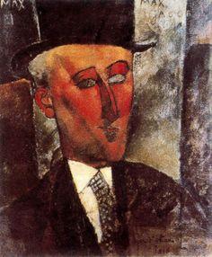 Max Jacob, 1916 Amedeo Modigliani