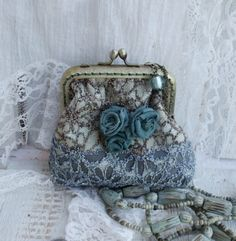 Purse with flowers...DIY