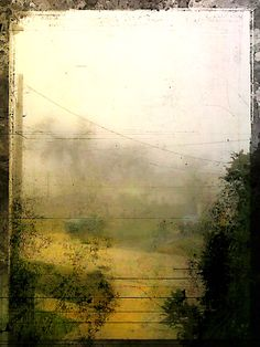 jackbarnosky: Houston 25th st Fog on New Year's Day Jack Barnosky