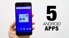 These are five of the best Android apps I've been using on a daily basis for the last month or so. If your'e hungry for apps, we've got your fix. Best Android, Android Apps, Best Apps, Being Used, Smartphone, Phones, Ios, Gadgets, Amazon
