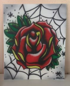 traditional tattoo rose - Google Search